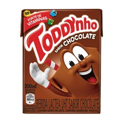 Achocolatado TODDYNHO Sabor Chocolate 200 ml