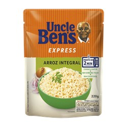 Arroz Integral UNCLE BEN'S Express Sachê 220g
