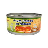 Atum Ralado Equatoriano SAINT PAUL Ao Natural 170g