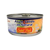 Atum Sólido Equatoriano SAINT PAUL Ao Natural 170g
