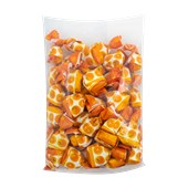 Bala Turca FRUIT FILLED Sabor Laranja 400g