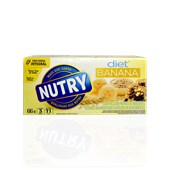 Barra de Cereal NUTRY Banana Diet 66g