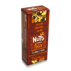 Barra NUTS BAR Castanhas e Frutas 50g