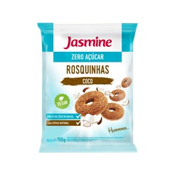Biscoito Integral JASMINE Tipo Rosquinha Sabor Coco Diet 150g