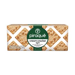 Biscoito PIRAQUÊ Salgado Cream Crackers Light 200g