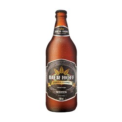 Cerveja Nacional BIER HOFF Weizen Gourmet One Way 600ml