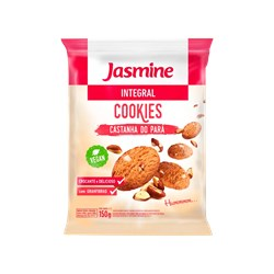 Cookies Integral JASMINE Castanha do Pará 150g