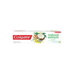 Creme Dental COLGATE Natural Extracts Detox De Coco 90g