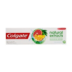 Creme Dental COLGATE Natural Extracts Laranja Citrica e Eucalipto 90g