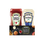 Kit HEINZ Maionese 390g Ketchup Tradicional 397g