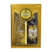 Kit THEREZÓPOLIS Gold Cerveja Premium Lager 600ml 1 Taça