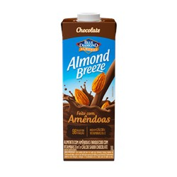 Leite de Amêndoa Americano ALMOND BREEZE Sabor Chocolate 1L