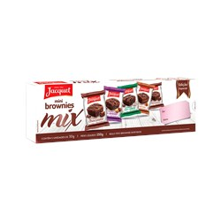Mini Brownies JACQUET Mix Sabores 150g