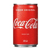 Refrigerante COCA COLA Mini Lata 220ml