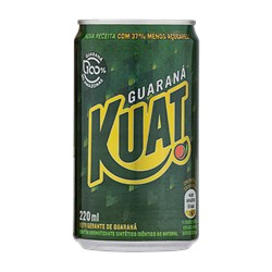 Refrigerante KUAT Guaraná Mini Lata 220ml