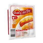 Salsichas SEARA Hot Dog 10 Unidades 500g